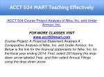 acct 504 mart teaching effectively 3