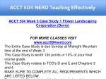 acct 504 nerd teaching effectively 12