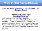 acct 504 nerd teaching effectively 18