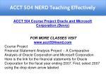 acct 504 nerd teaching effectively 4