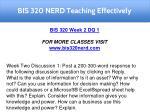 bis 320 nerd teaching effectively 5