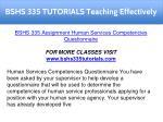 bshs 335 tutorials teaching effectively 1