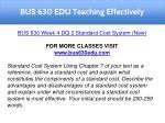 bus 630 edu teaching effectively 12