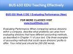 bus 630 edu teaching effectively 17