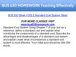 bus 630 homework teaching effectively 13
