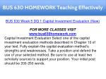 bus 630 homework teaching effectively 15