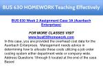 bus 630 homework teaching effectively 5