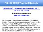 fin 402 guide teaching effectively 16