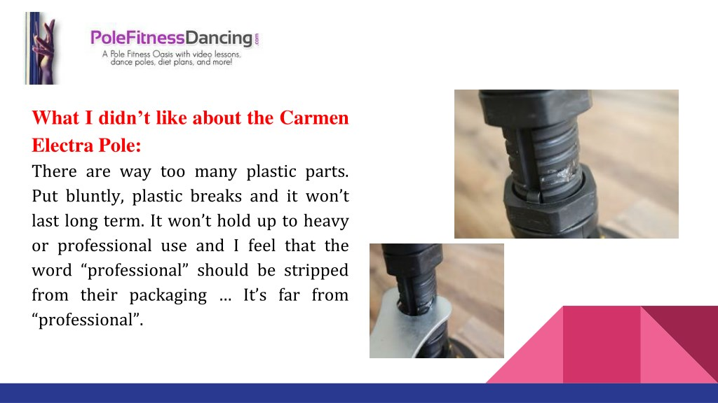 Ppt Carmen Electra Dance Pole Review Powerpoint