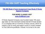 fin 486 cart teaching effectively 24