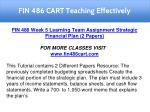 fin 486 cart teaching effectively 27