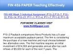 fin 486 paper teaching effectively 15