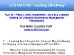 hcs 451 cart teaching effectively 21