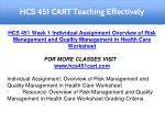 hcs 451 cart teaching effectively 4