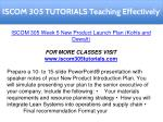 iscom 305 tutorials teaching effectively 19