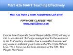 mgt 426 mart teaching effectively 12