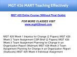mgt 426 mart teaching effectively