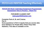 psych 625 mentor teaching effectively 17