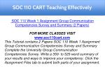 soc 110 cart teaching effectively 1