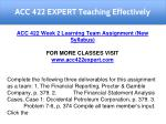 acc 422 expert teaching effectively 14