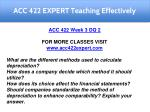 acc 422 expert teaching effectively 17