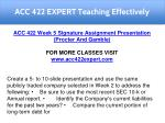 acc 422 expert teaching effectively 32