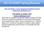 acc 422 expert teaching effectively 9