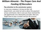 william almonte the proper care and feeding of recruiters 6