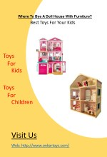 where to bye a doll house with furniture
