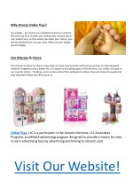 why choose onkar toys