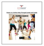 fitness in a perfect way through zumba and cardio