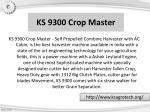 ks 9300 crop master