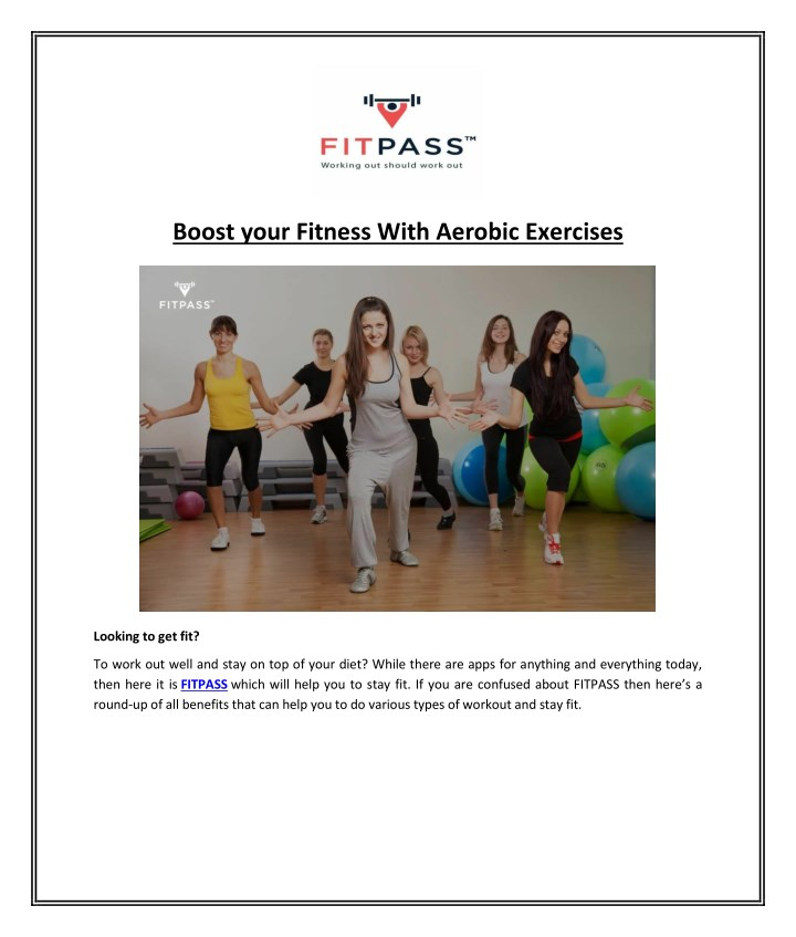 boost your fitness with aerobic exercises n.
