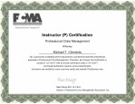 instructor p certification