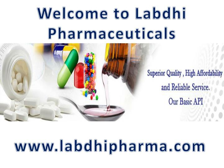welcome to labdhi pharmaceuticals n.