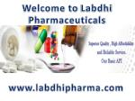 welcome to labdhi pharmaceuticals