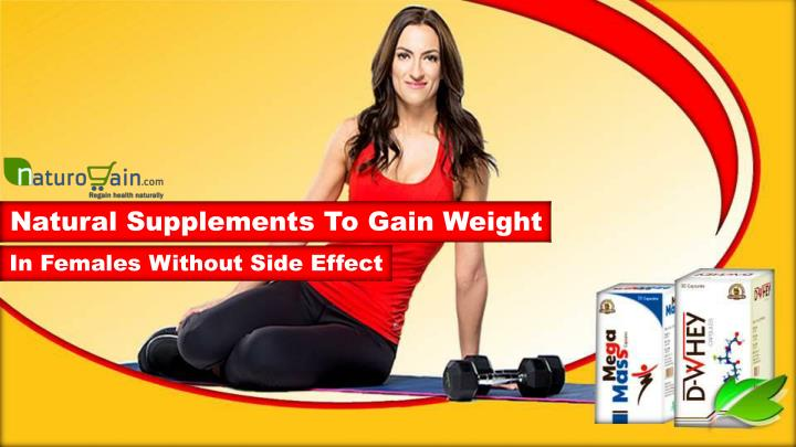 natural supplements to gain weight n.