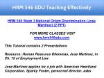 hrm 546 edu teaching effectively 4