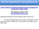 bsa 375 homework education specialist 13