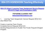 bsa 375 homework education specialist 20