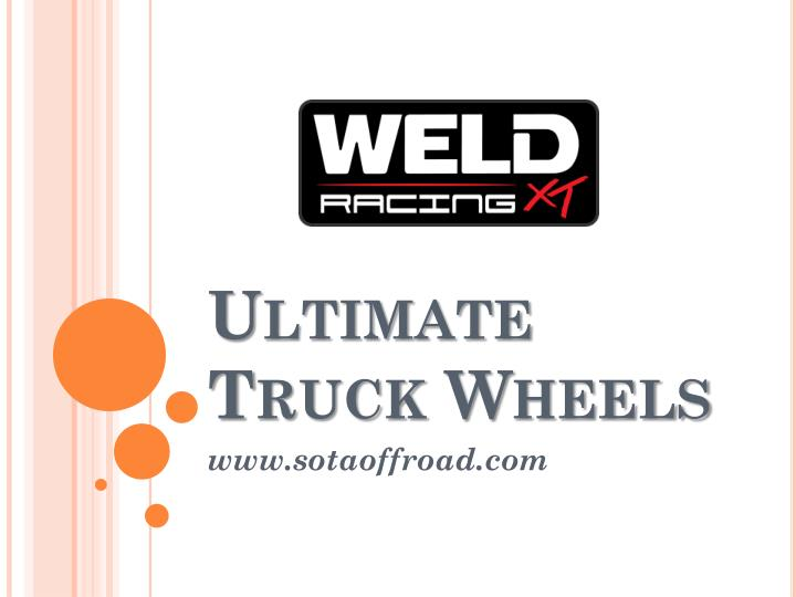 ultimate truck wheels n.