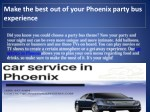 make the best out of your phoenix party