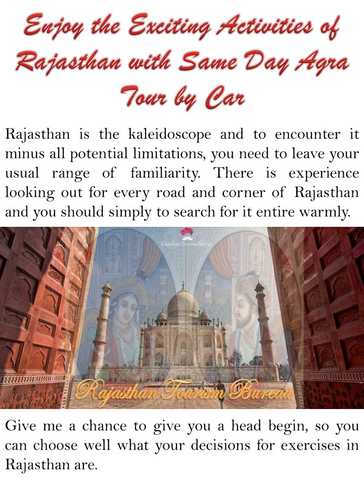 rajasthan is the kaleidoscope and to encounter n.
