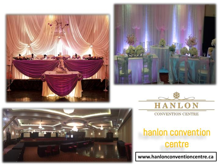 hanlon convention centre n.