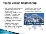 piping design engineering