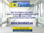 new york airports information john f kennedy