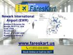 newark international airport ewr www fareskart us