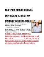 neet iit crash course 1