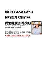 neet iit crash course 10