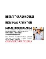 neet iit crash course 3